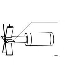 Aquael PFN/Turbo/Circulator - 1000 (N) rotorius