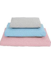 Zolux gultas su užvalkalu Levika 90 cm rožinis