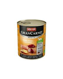 ANIMONDA Grancarno Sensitive konservai su kalakutiena ir bulvėmis 400 g