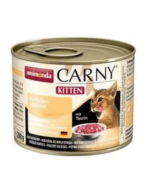 Animonda Carny Kitten konservai paukštienos kokteilis 200 g
