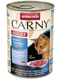 Animonda Carny Adult su jautiena, menke ir petražolių šaknimis 400 g