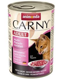 Animonda Carny Adult konservai mėsos kokteilis 400 g