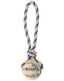 Trixie Denta Fun kamuoliukas su virve 7 cm