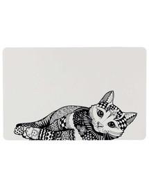 Trixie padėkliukas po dubenėliu Zentangle 44 × 28 cm
