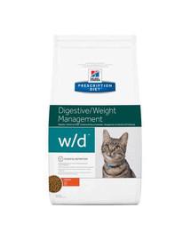Hill'S Prescription Diet W/D Feline 5 kg