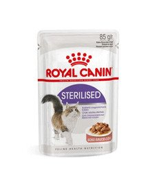 Royal Canin Sterilised padaže 12 X 85 g