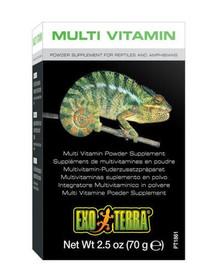 Exo Terra Multi Vitamin papildas ropliams ir varliagyviams 70 g