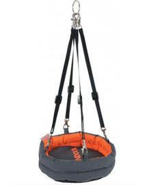 Zolux hamakas Indoor 210 X 170 X 430 mm pilkas-oranžinis