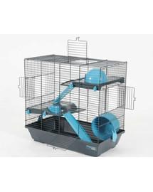 Zolux narvelis Indoor Duplex 50 cm žiurkėnams pilkas-mėlynas