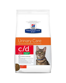 Hill'S Prescription Diet Feline C/D Stress Reduced Calorie Chicken 4 kg
