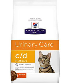 Hill'S Prescription Diet Feline C/D Multicare Chicken 10 kg