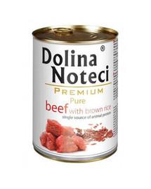 DOLINA NOTECI Premium Pure su jautiena ir ryžiais 800 g
