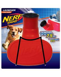 NERF kamuoliukų paleidėjas raudonas