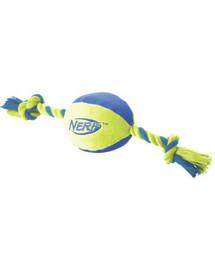 Nerf kamuoliukas su virve M žalias/oranžinis