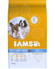 Iams Proactive Health Puppy & Junior Large Breed Chicken 3 kg