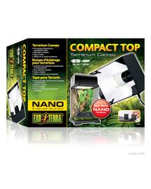 Exo Terra Compact Top Nano šviestuvas 20x9x15 cm