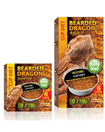 Exo Terra Bearded Dragon Juvenile maistas jaunai barzdotojai agamai 6X25 g