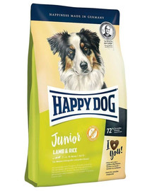 Happy Dog Junior Lamb & Rice su ėriena ir ryžiais 4 kg