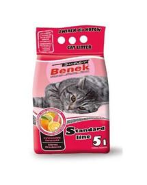 Benek Super kraikas katėms su citrusinių vaisių aromatu 5 l