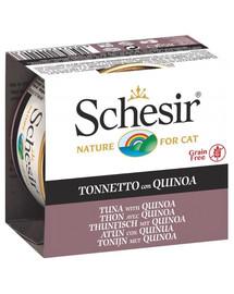 SCHESIR konservai su tunais ir bolivine balanda drebučiuose 85 g