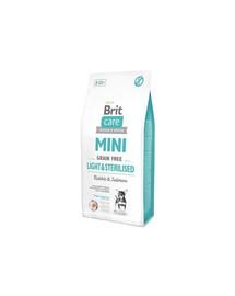 Brit Care Mini Light & Sterilised  2 kg