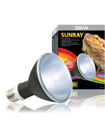 EXOTERRA SunRay halogeninė lempa su balastu 35W