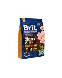 BRIT Premium By Nature Senior S/M  3 kg