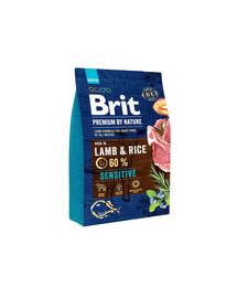 BRIT Premium By Nature Sensitive Lamb & Rice 3 kg