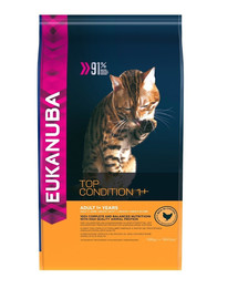EUKANUBA Cat Adult All Breeds Top Condition Chicken & Liver 400 g