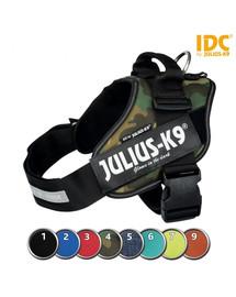 TRIXIE Julius-K9 petnešos šunims L-XL, spalva: kamufliažinė