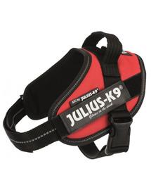 TRIXIE Julius-K9 petnešos šunims M-L, spalva: raudona