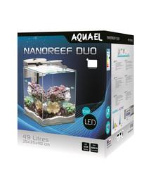 AQUAEL NANO REEF DUO akvariumo rinkinys 49 l 35 cm baltas