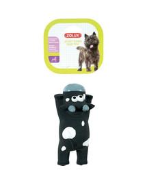 ZOLUX lateksinis žaislas gulinti karvė 16 cm