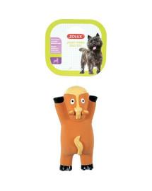 ZOLUX lateksinis žaislas gulintis arklys 16 cm