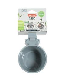 ZOLUX Neo plastikinis dubuo pakabinamam Dia. 9,5 cm 300 ml