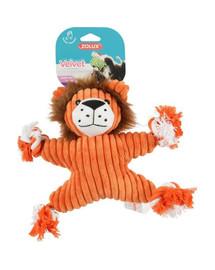 ZOLUX pliušinis žaislas Velvet liūtė Virginia oranžinis