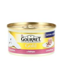 GOURMET Gold Mus konservai su jautiena 85 g