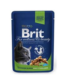 BRIT Premium konservai Chicken Slices Sterilised 100g