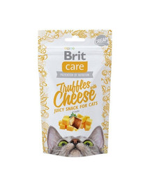 BRIT Care skanėstai katėms Truffles with Cheese 50g