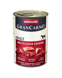 Animonda Grancarno Adult 400 g suaugusių šunų konservai su įvairių rūšių mėsa