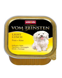 ANIMONDA Vom Feinsten Light Lunch su kalakutiena ir sūriu 150 g