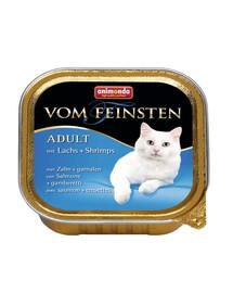 ANIMONDA Vom Feinsten Classic konservai su lašiša ir krevetėmis 100 g