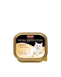 ANIMONDA Vom Feinsten Adult jautiena ir vištiena 100 g