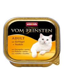ANIMONDA Vom Feinsten Menu su paukštiena ir makaronais 100 g