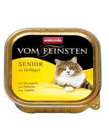 ANIMONDA Vom Feinsten CatSenior su paukštiena 100 g