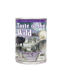 TASTE OF THE WILD Sierra Mountain konservai 390 g