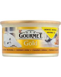 GOURMET Gold Savoury Cake su vištiena ir morkomis 85 g