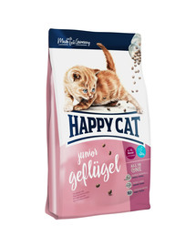 HAPPY CAT Supreme Junior su vištiena 4 kg