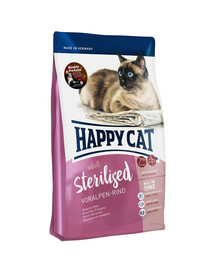 HAPPY CAT Supreme Sterilised su jautiena 10 kg