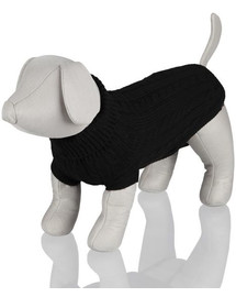 Trixie King Dog megztinis šunims S 40 cm juodas